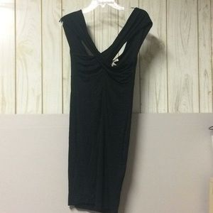 Forever 21 Black Stretch Dress